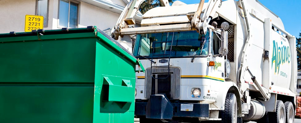 Image result for alpine waste dumpster